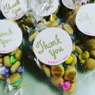 Personalized Giveaway treats