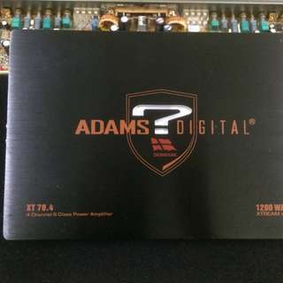 ADAMS DIGITAL AND SPEAKER BOX