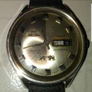Vintage Nelson 21 watch
