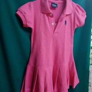 Polo Dress anak TK ORI