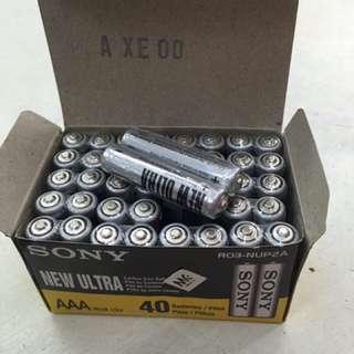 Sony New Ultra Battery AAA