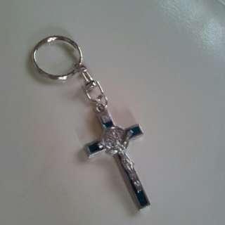 St. Benedict keychain (big)