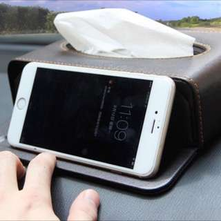 Car Tissue Box /Phone Stand - Good Quality