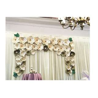 Curtain Backdrop for Rent