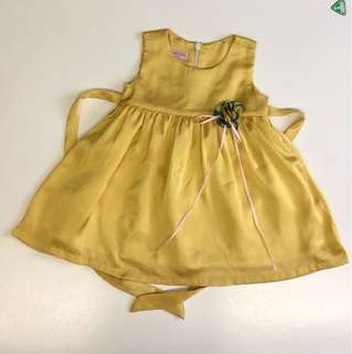 Lovely Lace -yellow Ssize