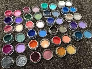 23 Mac pigments - tester packs