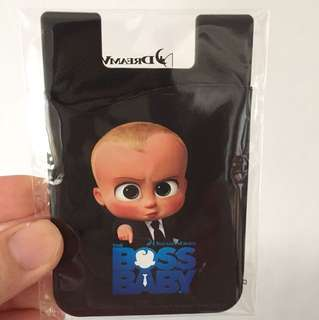 Boss Baby Card holder stick-on Phone