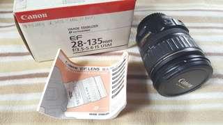 Canon Image Stabilizer Ultrasonic Lens