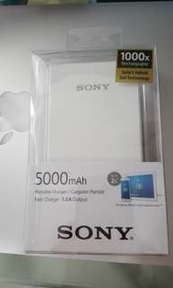 BNIB Sony Powerbank CP-V5A