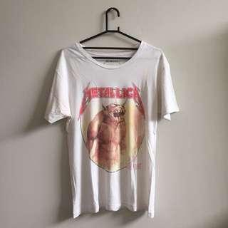 Metallica Cotton On Authentic Merch
