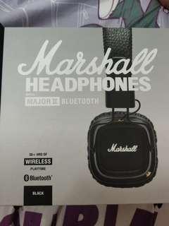 Marshall Major II Headphones Bluetooth