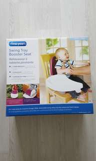 My First Years baby dining booster seat (unused)