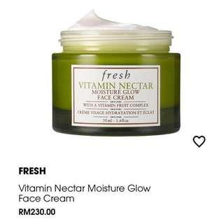 FRESH Vitamin Nectar Moisture Glow Fresh Cream