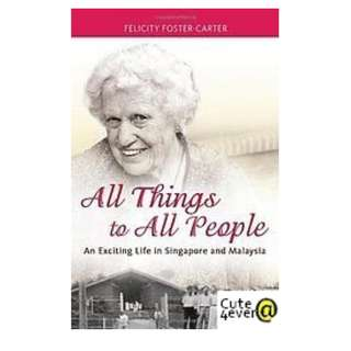 FELICITY FOSTER - CARTER BESTSELLER : ALL THINGS TO ALL PEOPLE