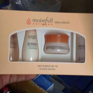 ETUDE HOUSE MOISTFULL COLLAGEN SKIN CARE SET 4pcs