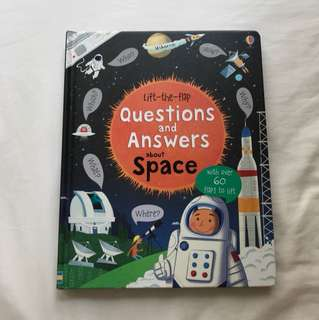 Usborne Lift-the-Flap Q&A About Space