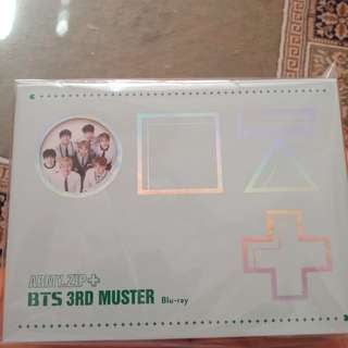 Free postage [Fast Deal] BTS 3RD MUSTER Blu-ray
