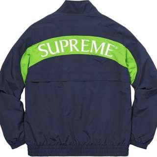 Supreme Arc Track Jacket 黃金深藍XL
