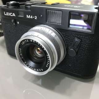 Leica M4-2 Black Body