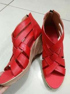 Sepatu kulit bisa PO warna