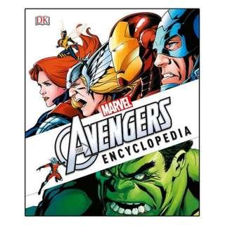 DK Marvel's The Avengers Encyclopedia
