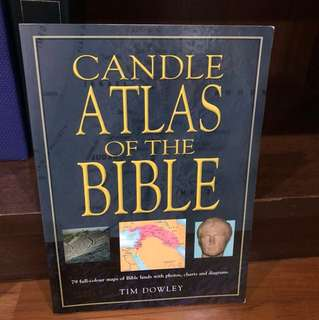 Candle Atlas of the Bible - Tim Dowly