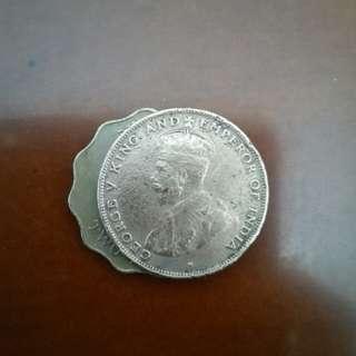 香港 硬幣👍1仙👈 罕有👉1926年出👈