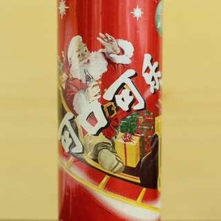 🚚 可口可樂中國2001聖誕紀念罐  Cocacola