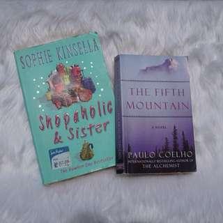 Sophie Kinsella + Paulo Coelho bundle