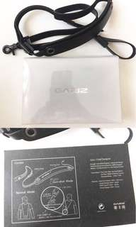 Black Gariz Leather Camera Strap with gunshot function