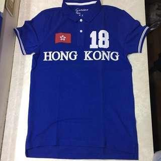 Giordano Hong Kong Blue Polo Shirt