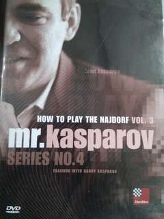 How to Play the Najdorf Chess Opening Volume 3 by GM Garry Kasparov