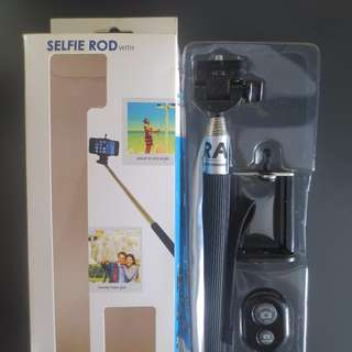 Selfie Rod with Bluetooth For Sale