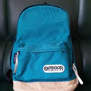 outdoor 湖水藍色背包