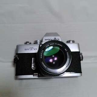 MINOLTA srT101底片單眼135機械相機
