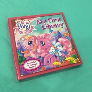 Full set only $12 My Little Pony Books (6 books)