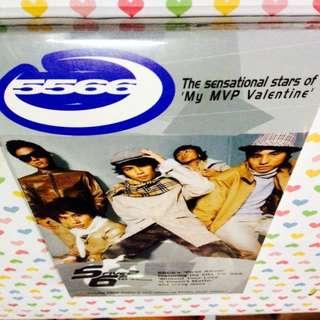 5566 - 1st Album (CD+VCD)(Sealed)