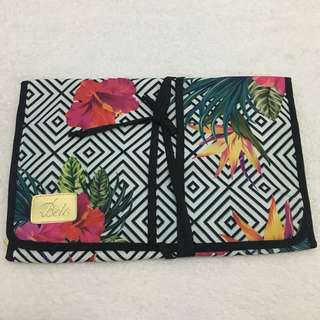 Cosmetics, Makeup Brushes, Toiletries Pouch