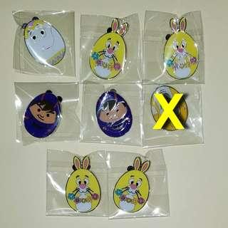 迪士尼 Disney pin 徽章 2018 花蛋 easter egg