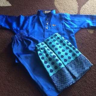 (Include Postage)UpinIpin Baju Melayu (0-1tahun)