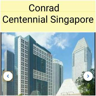 Conrad Centennial Singapore, From S$238(with breakfast & Executive Lounge access)