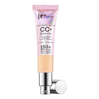 IT cosmetics CC+ Cream Illumination SPF50+ Fair