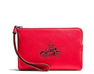 Disney X Coach Collection (wristlet)