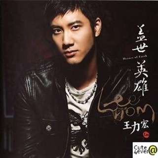 WANG LEE HOM 王力宏 CD ALBUM: HEROES OF EARTH 蓋世英雄