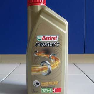 Castrol Power 1 Motorcycle Semi Engine Oil for Sale