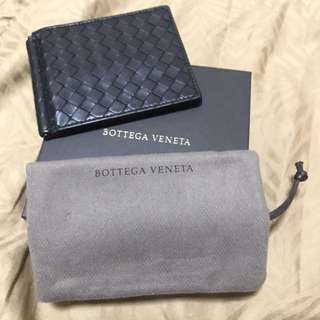 Bottega Veneta money clip wallet