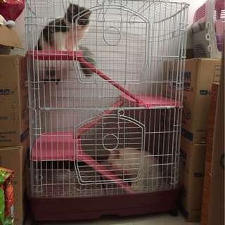 Big Cage for cats puppies chinchillas bunnies rabbits
