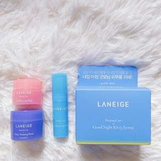 Laneige Goodnight Kit