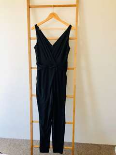 High Waisted Jumpsuit with Pockets