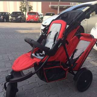 Preloved Hauck-Freerider Tandem Stroller